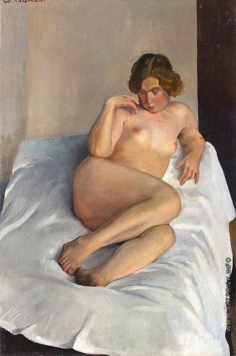Кацман Е. А. Лежащая обнаженная