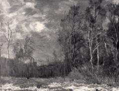 Бакшеев В. Н. Восход луны
