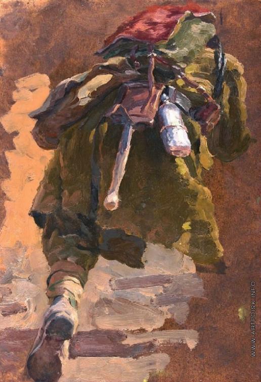 Волков Ю. В. Бегущий солдат
