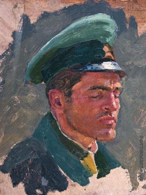 Волков Ю. В. Голова немецкого офицера