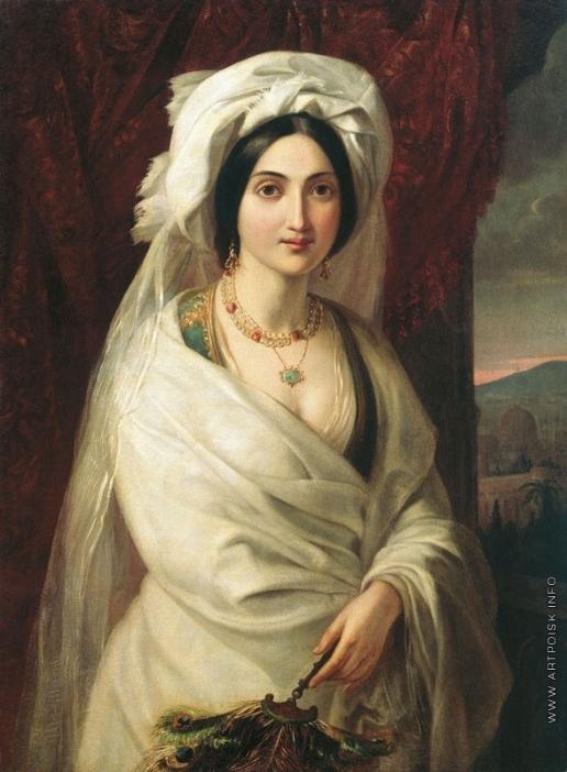 Мокрицкий А. Н. Женский портрет