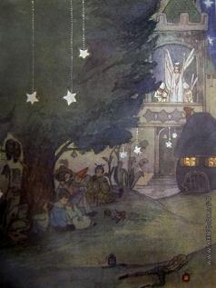 Щеглов М. М. Иллюстрация к сказке В.И.Садовникова «У Царевны Динь»