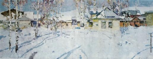 Захаров Ф. З. Зима в Седневе