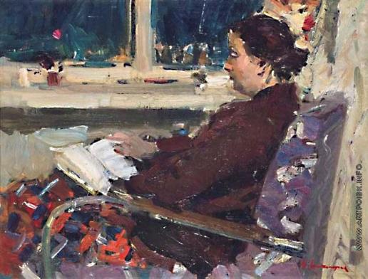 Захаров Ф. З. Портрет жены художника
