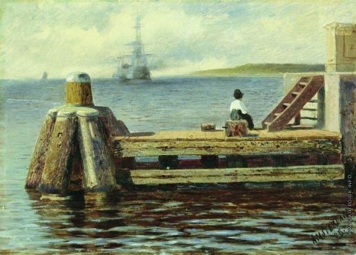 Боголюбов А. П. Амстердамская пристань