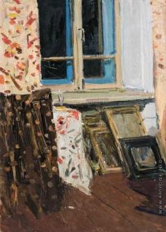 Захаров Ф. З. Интерьер дома художника