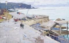 Захаров Ф. З. У моря