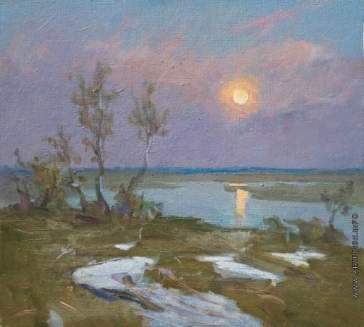 Захаров Ф. З. Восход луны