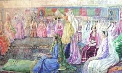Яновский В. К. Крымско-татарская свадьба. (Триптих)