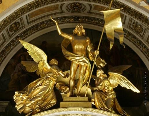 Пименов Н. С. Воскресение. Барельеф для малых иконостасов Исаакиевского собора в Петербурге