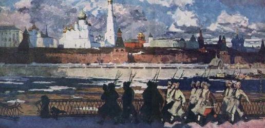 Попов И. А. Весна. 1918 год.