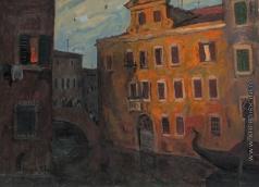 Попов И. А. Вечер в Венеции