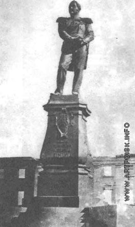 Пименов Н. С. Памятник адмиралу генерал-адъютанту Михаилу Петровичу Лазареву в Севастополе