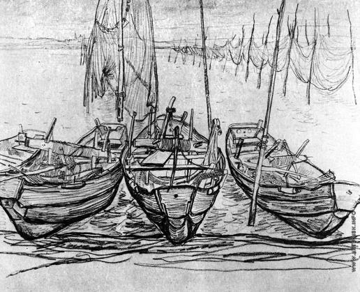 Попов И. А. Лодки и сети