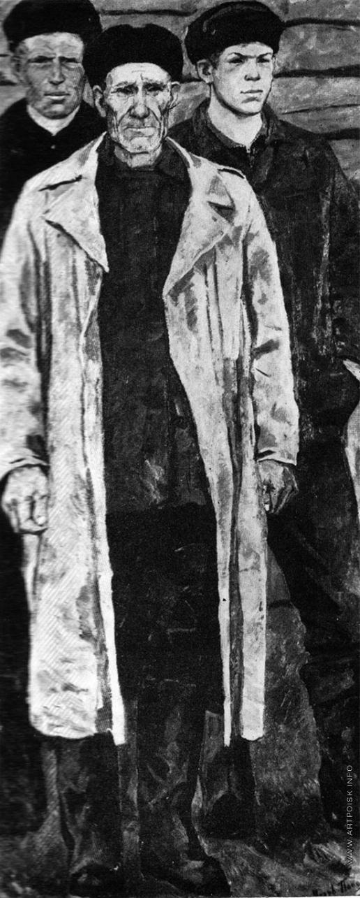 Попов И. А. Храмцов А.П. с сыновьями