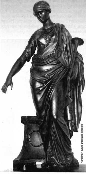 Гальберг С. И. Модель памятника Н. М. Карамзину. Фрагмент