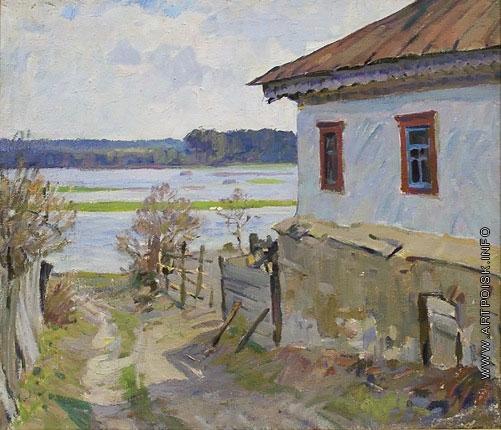 Бортников Н. Ф. Дом у реки