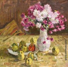 Бортников Н. Ф. Цветы и яблоки
