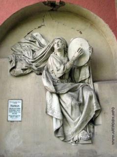 Логановский А. В. Горельеф с храма Христа в Москве