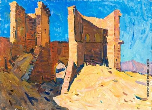 Мамчич С. Г. Ворота в крепость
