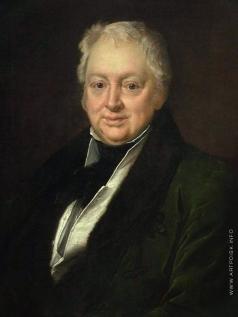 Тропинин В. А. Портрет Василия Ивановича Бибикова