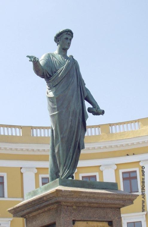 Мартос И. П. Памятник герцогу де Ришельё