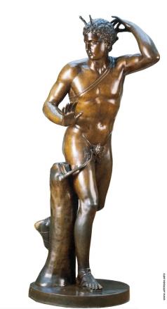 Мартос И. П. Статуя Актеона для ансамбля Большого каскада в Петергофе