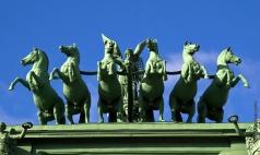 Демут-Малиновский В. И. Триумфальная колесница Победы