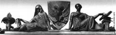 Демут-Малиновский В. И. Благочестие и Правосудие. Аллегорическая группа на аттике здания Сената и Синода