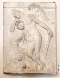 Демут-Малиновский В. И. Рельеф памятника на могиле скульптора М.И. Козловского