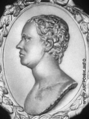 Демут-Малиновский В. И. Портрет Козловского. Рельеф на памятнике Козловскому