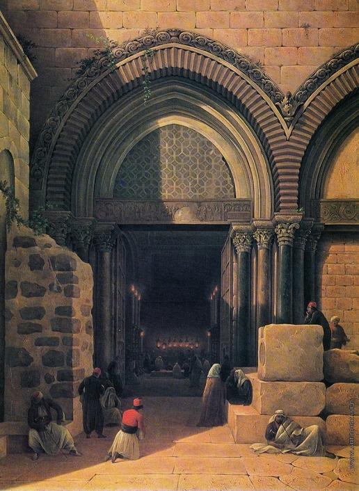 Чернецов Н. Г. Храм Воскресения в Иерусалиме