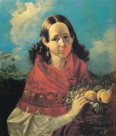 Хруцкий И. Т. Портрет дочери