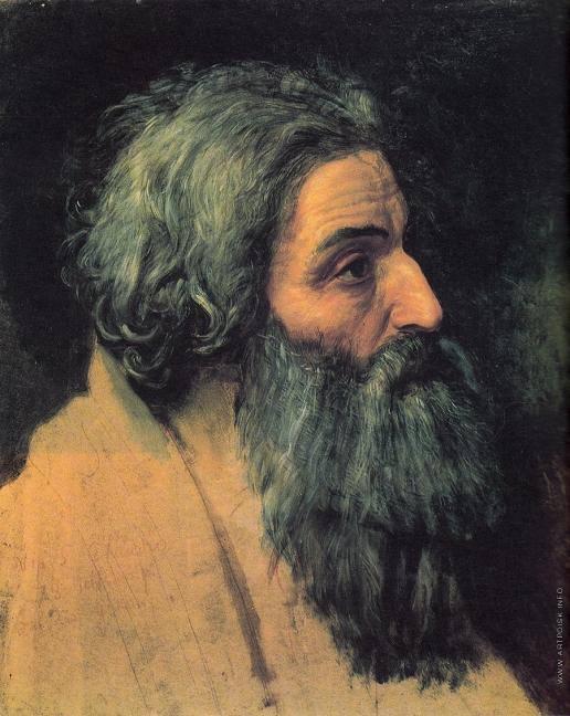 Иванов А. А. Голова апостола Андрея
