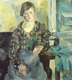Фальк Р. Р. Женский портрет