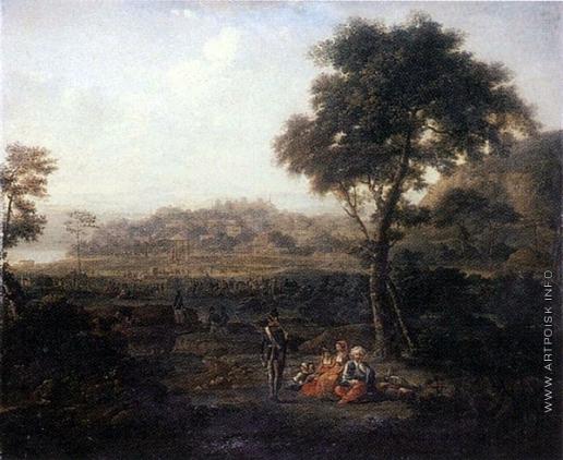Есаков Е. И. Русский лагерь под Силистрией в 1810 году во время войны с Турцией