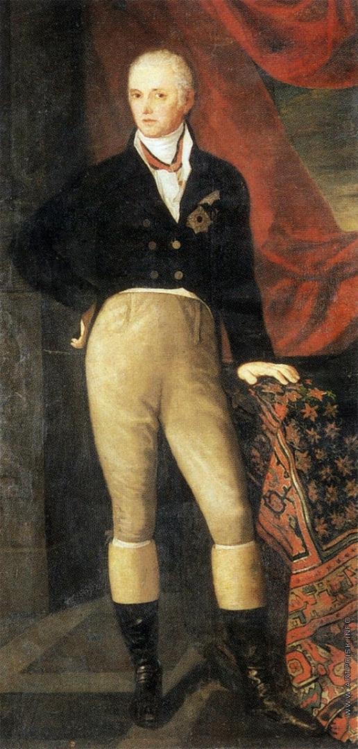 Егоров А. Е. Портрет А.И. Корсакова