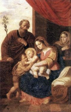 Егоров А. Е. Святое семейство с Анной пророчицей