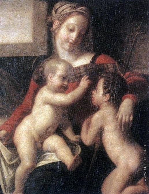 Егоров А. Е. Богоматерь с Христом и Иоанном Крестителем