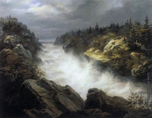 Дузи Х. Водопад Иматра