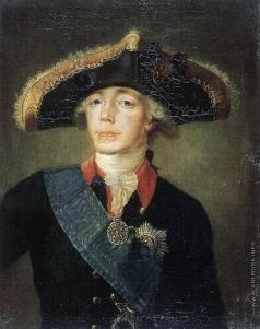 Дудин Я. Е. Портрет Павла I