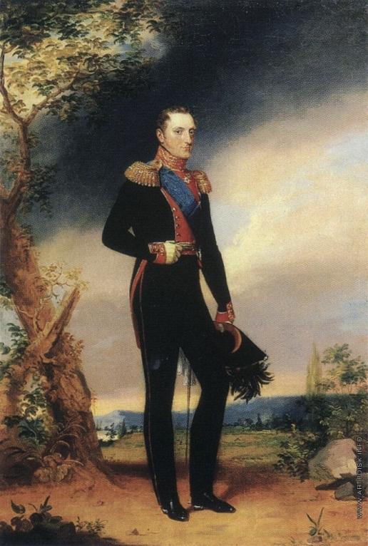 Доу Д. Ф. Портрет императора Николая I