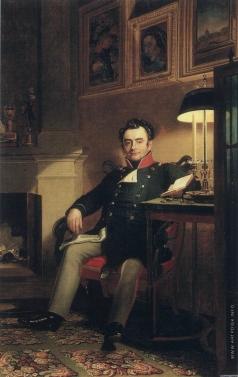Доу Д. Ф. Портрет графа П.А. Шувалова