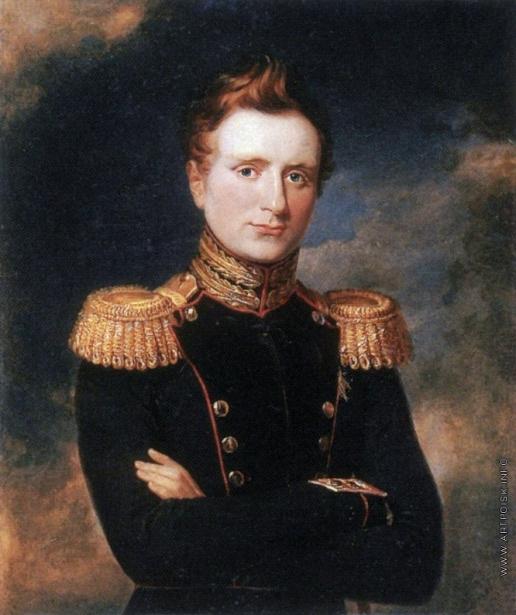 Доу Д. Ф. Портрет великого князя Михаила Павловича