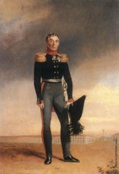 Доу Д. Ф. Портрет графа А.А. Аракчеева