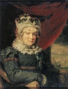 Доу Д. Ф. Портрет графини Ш.К. фон Ливен