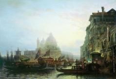 Боголюбов А. П. Венеция ночью