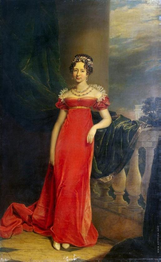 Доу Д. Ф. Портрет великой княгини Марии Павловны