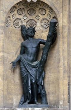 Демут-Малиновский В. И. Андрей Первозванный. Статуя в нише северного портика Казанского собора