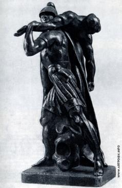 Козловский М. И. Аякс защищает тело Патрокла